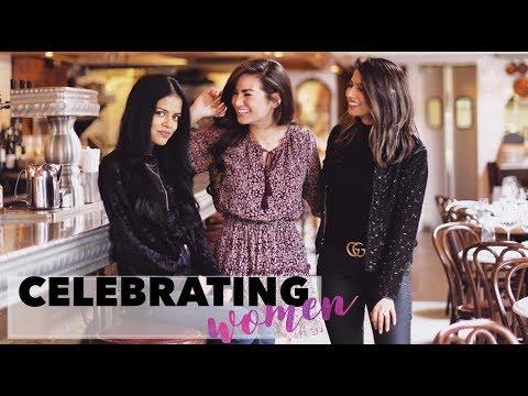 Walking around in my bathrobe & Celebrating WOMEN!!!