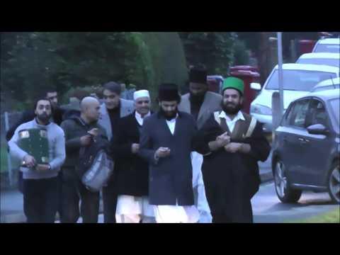 Shayukh of Eidgah Sharif Arrival at London Heathrow Airport 06/01/15
