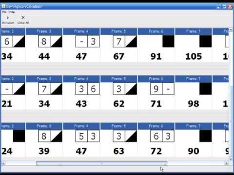 Bowling Score Calculator