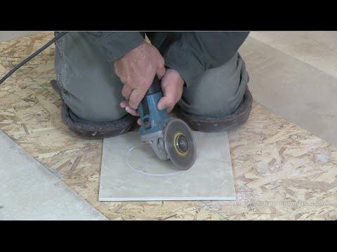 Cutting Ceramic Tile Around Toilet