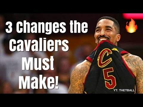 3 Changes the Cavaliers MUST Make For Game 2 vs the Warriors | LeBron & Cleveland Have a Chance!