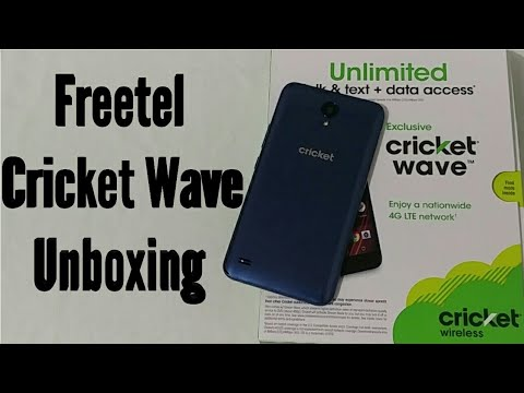 Freetel Cricket Wave Official Unboxing & First Look