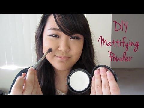 DIY Mattifying Powder