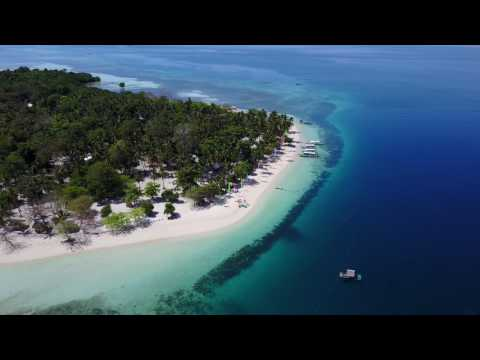 Drone 4k Footage of Pandan Isla in Puerto Princesa, Palawan - 2017.02.29
