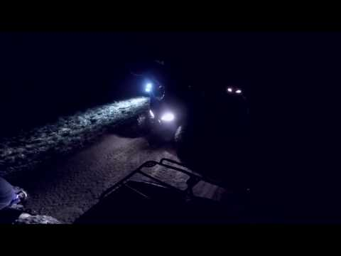 Night Ride With Fourwheelers and Dirtbikes