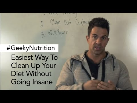 Easiest Way To Clean Up Your Diet Without Going Insane