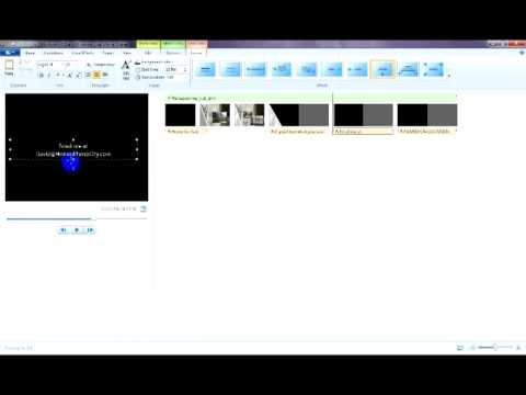 Create Video Using PowerPoint 2007 & Windows Live Movie Maker