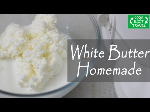 WHITE BUTTER made at Home | Desi Makhan | How to make Butter at Home ? | Fresh butter |