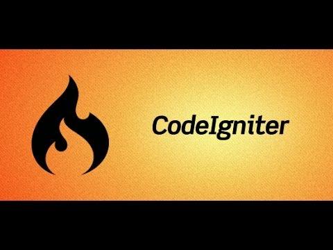 CodeIgniter Tutorial 13 - Register and Login System