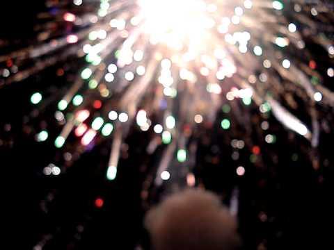 100  excalibur mortar round fireworks display