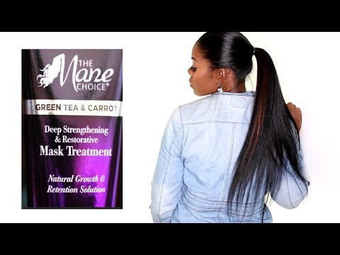 MANE CHOICE conditioning mask treatment on my STRAIGHT hair:  Results and thoughts