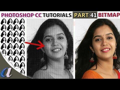 Bitmap Color Mode Effect in Photoshop Telugu    41   computersadda.com