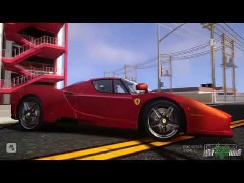 Gta iv San Andreas Beta - Ferrari Enzo