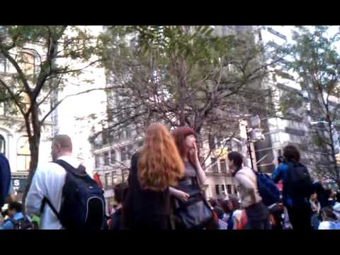 Occupy Wall Street Oct 05 2011 Federal Plaza NYC part 2