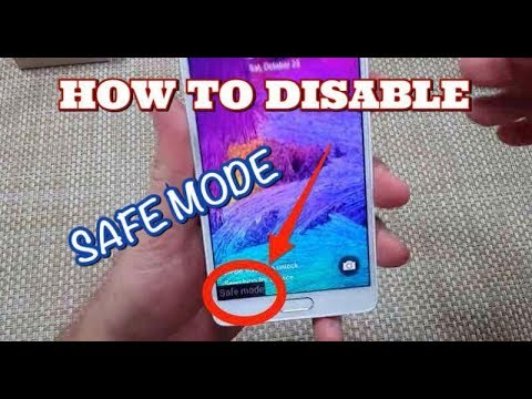 HOW TO EXIT SAFE MODE ON GALAXY GRANDE NEO PLUS I9060 AND I9060I