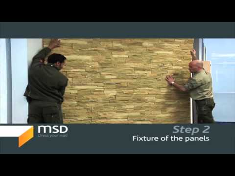 Stone Walls, exterior and interior stone designs (Step 2 of 5)