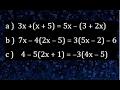 Ecuaciones de primer grado con paréntesis, ejemplo de ecuación de primer grado