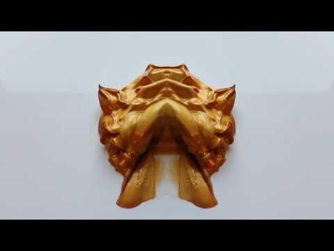 MIXING PAINTS: GOLDEN LION
