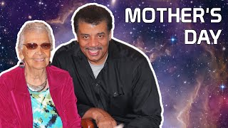 Neil deGrasse Tyson Celebrates Mother's Day with His Mom
