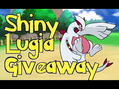 HUGE SHINY Legendary Pokemon Giveaway! 12x Shiny Lugia GTS ORAS & X/Y