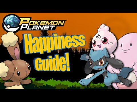 Pokemon Planet - Happiness Training Guide!