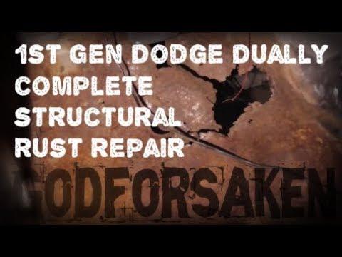 1st Gen Dodge 12 Valve Complete Structural Rust Repair, Cab mounts, rockers, cab corner, floors