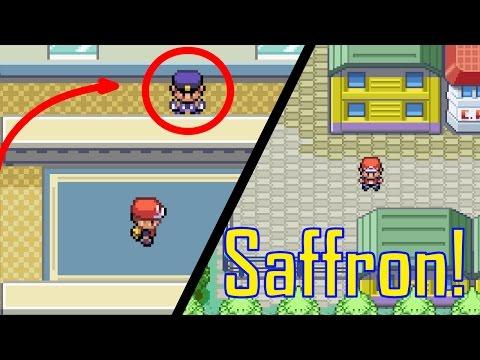Como Chegar em Saffron City! | Como Tirar o Guarda do Caminho de Saffron Tutorial