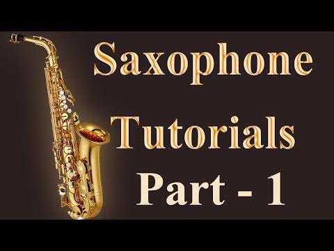 Instrument Tutorials | Beginners Tutorial Part - 1 | Learn Saxophone Online | Divya Music