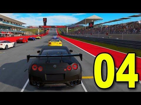 NISSAN GTR BLACK EDITION - Forza 7 Career Mode (Part 4)