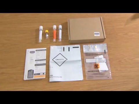 How to package and return your samples (STI self-sampling kit)