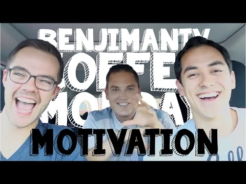 Coffee Monday Motivation...Pursuing Your Dreams- BenjiManTV