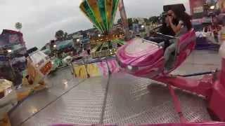 Break Dance No.1 - Kinzler (onride) Video Rheinkirmes Düsseldorf 2015