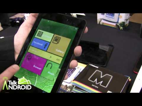 Hands on with the Polaroid M Series 7-inch and 10-inch tablets