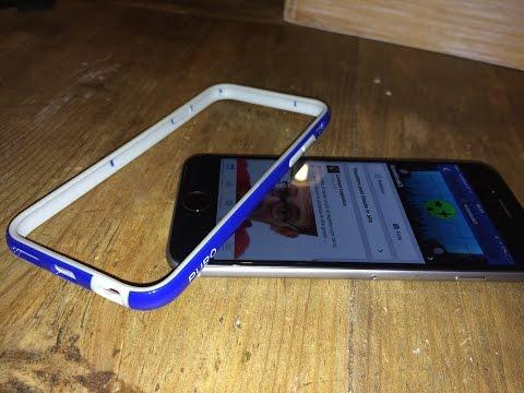 Unboxing Bumper Puro Blu iPhone 6