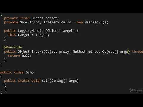 Design Patterns in Java : Dynamic Proxy for Logging
