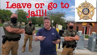 1st amendment audit Sheriff's office Big fail!!! **Tyrant Alert**