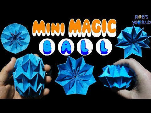 How to Make a Mini MAGIC BALL (Dragon's Egg) | Easiest Method