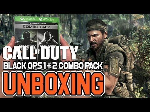 Call Of Duty Black Ops 1 & 2 Combo Pack Repack (Xbox One/Xbox 360) Unboxing !!