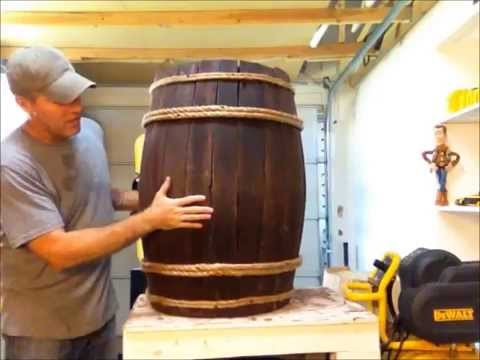 DIY : Fake Wine / Whiskey Barrel