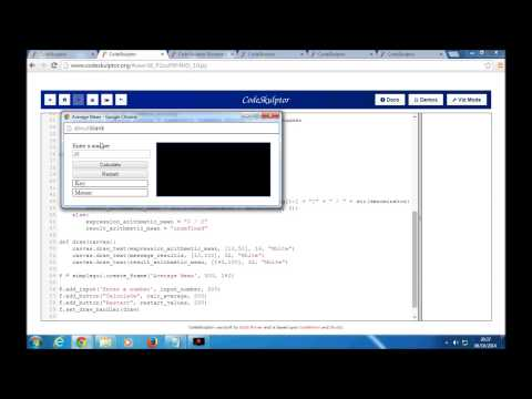 Tutorial week3 Arithmetic mean with Python