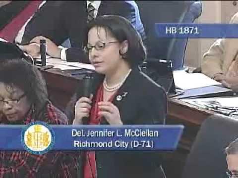 Del. McClellan defends her bill to define bullying (HB 1871)