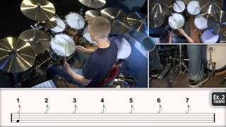 Learning 7/8 Odd Time - Drum Lesson (DRUMEO)