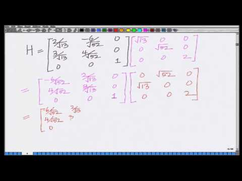 Lecture 44: SVD based MIMO Transmission