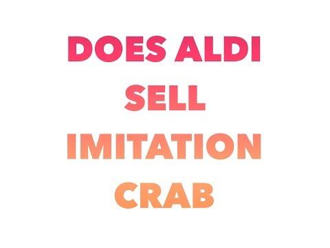 Does Aldi sell imitation crab