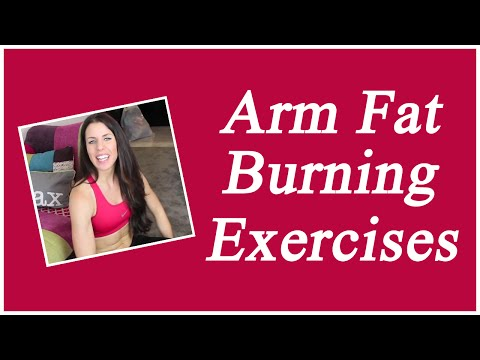 Arm Fat Burning Exercises For Women At Home Fast [VIDEO]