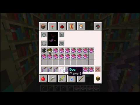 DJ&Riggaz: Bow Enchantments (Minecraft)