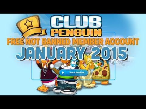 Free Club Penguin Member Account 2016