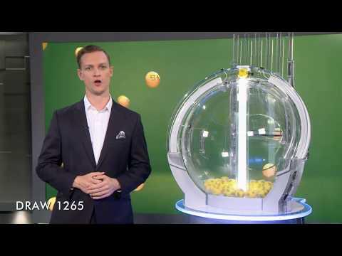 Oz Lotto Draw Results 1265 15/05/2018 - the Lott