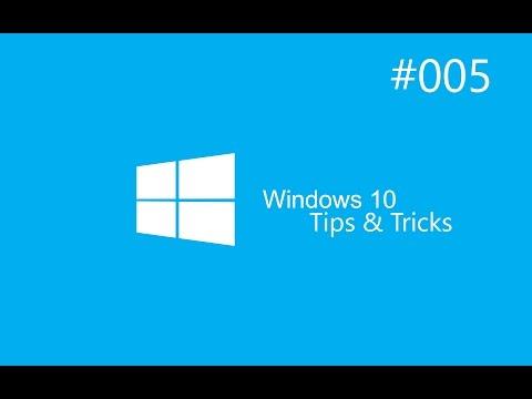 Windows 10 Tips #005 Enable the hidden Dark Mode