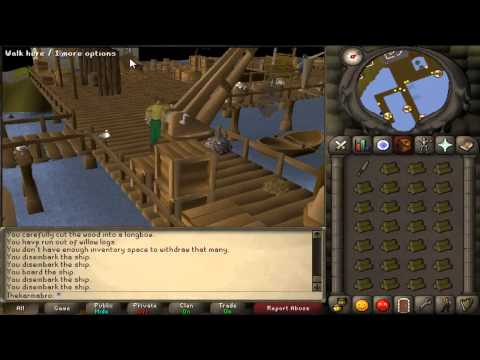 How to get to pest control island (2007 runescape)